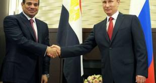 الرئيس بوتين  والسيسي