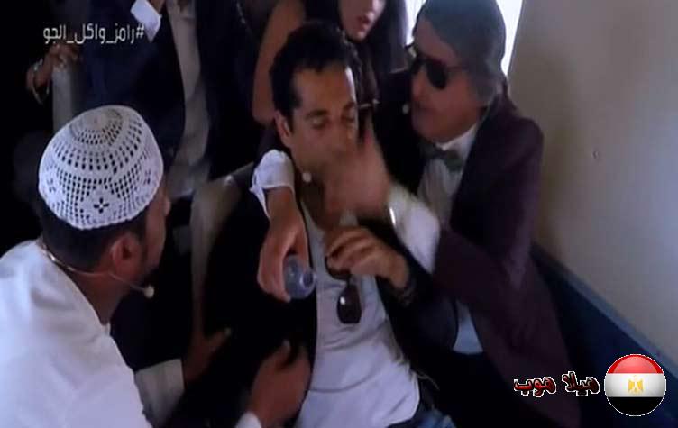 عمرو سعد فى رامز واكل الجو
