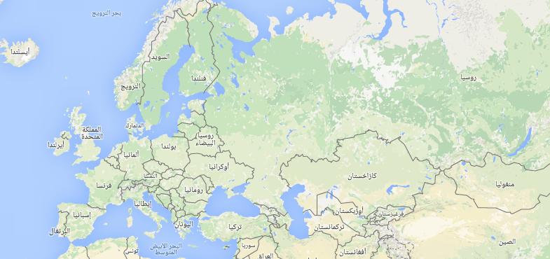 عدد دول أوروبا
