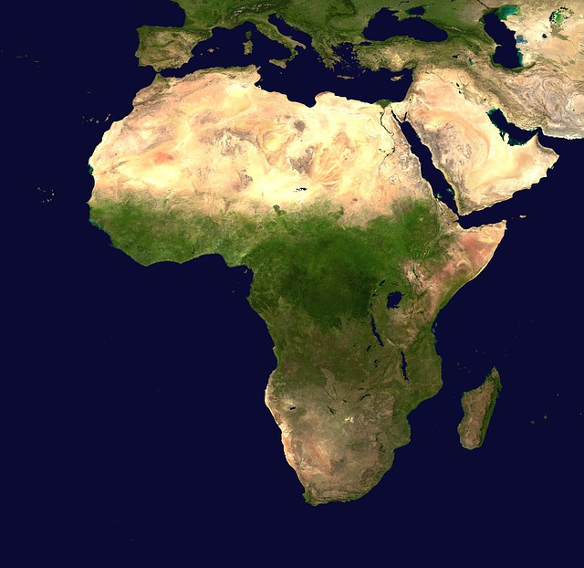 اسماء دول افريقيا