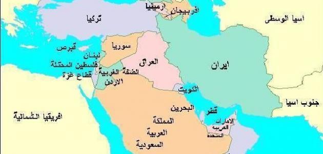 الخليج العربي ودول شبة الجزيرة العريبة