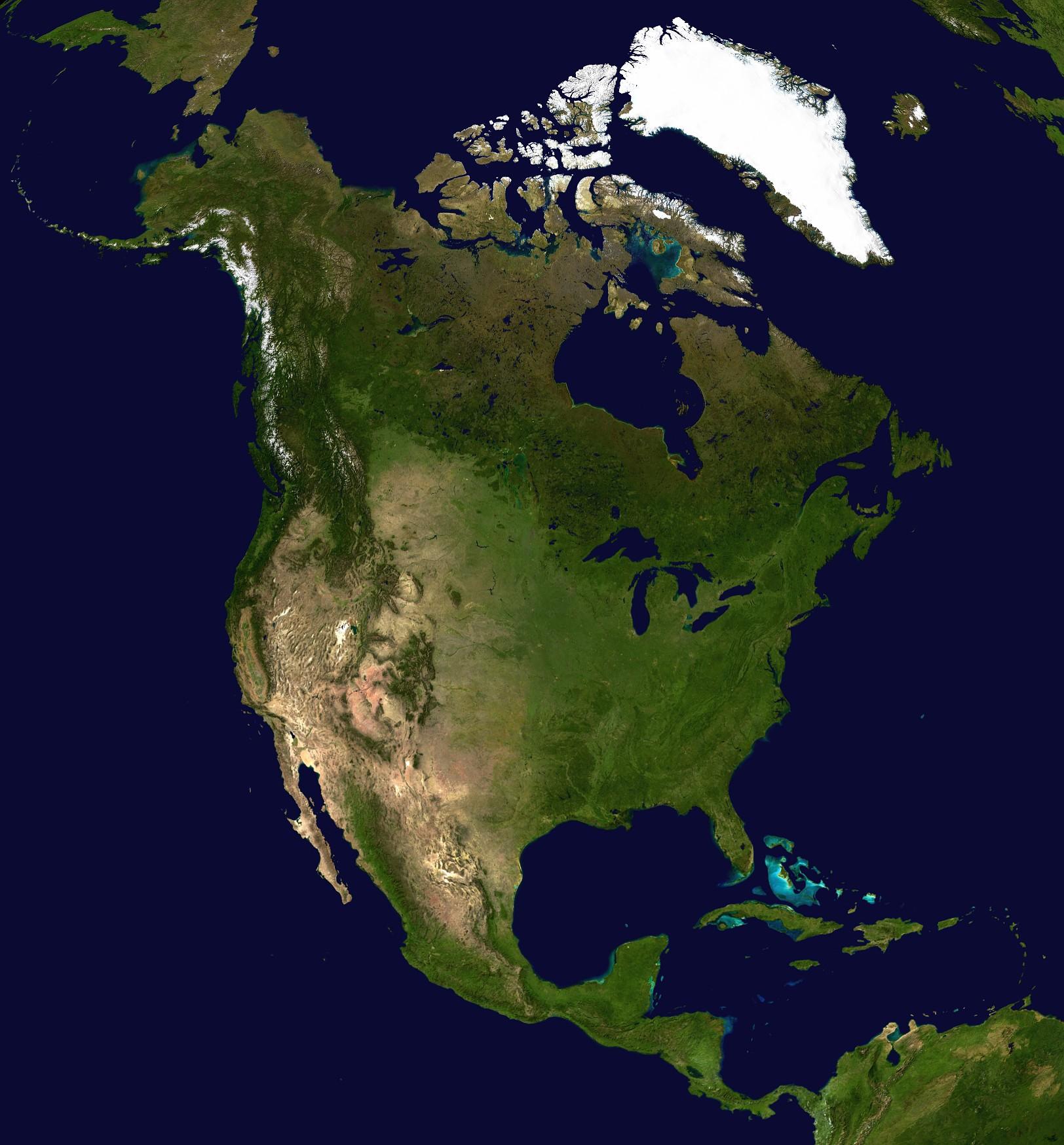 امريكا الشمالية