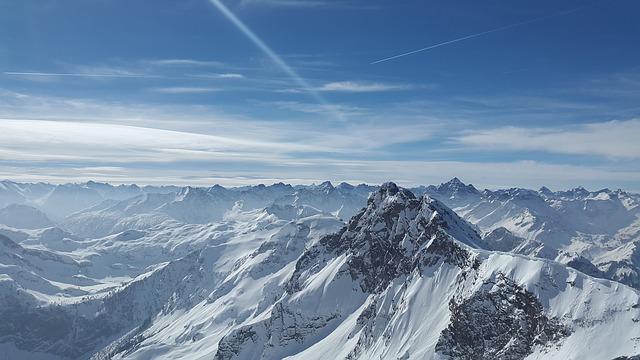 معلومات عن جبال الألب