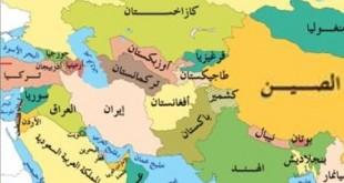 خريطة آسيا