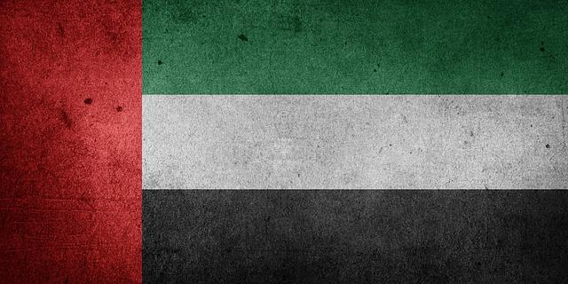 العلم الاماراتي