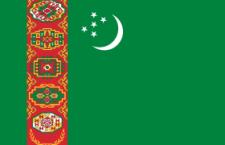 علم تركمانستان