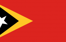 علم تيمور الشرقية