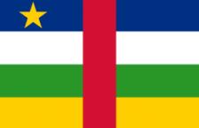 علم جمهورية افريقيا الوسطي