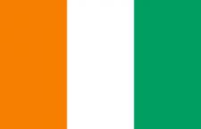 علم ساحل العاج