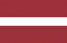 علم لاتفيا