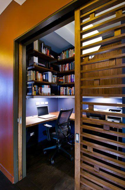 غرف مكتب خشبية