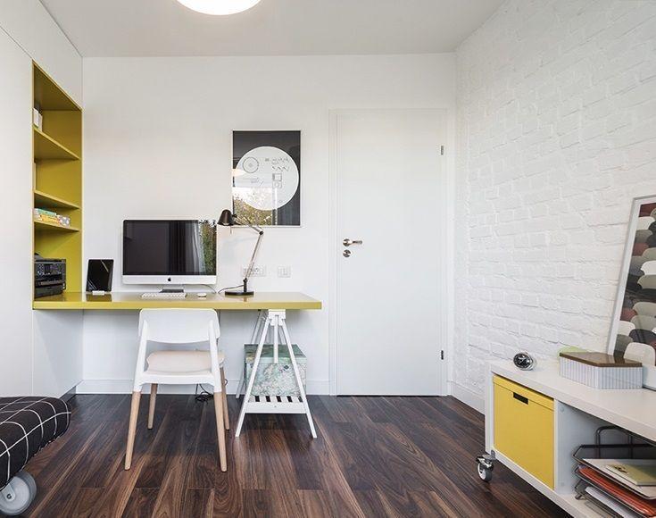 غرف مكتب مساحات صغيرة
