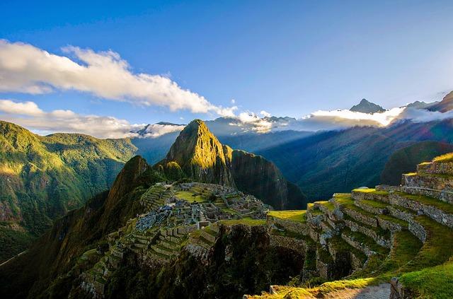 مظاهر السطح فى أمريكا الجنوبية