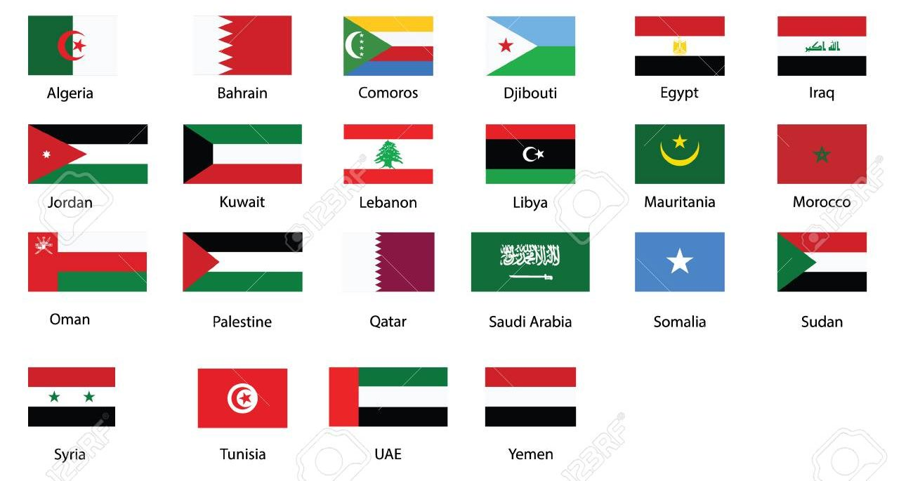 اعلام الدول العربية