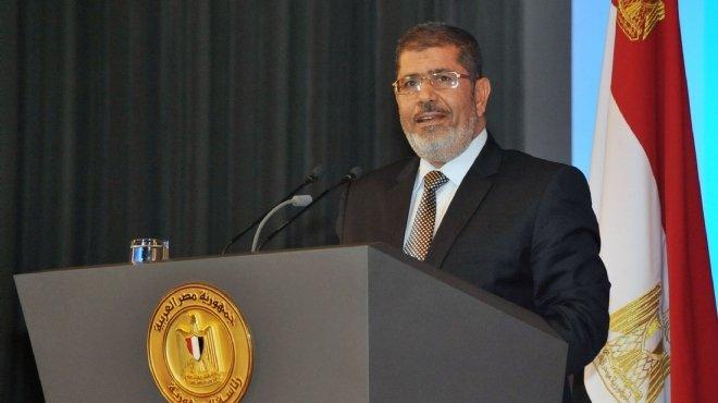الرئيس المخلوع محمد مرسى